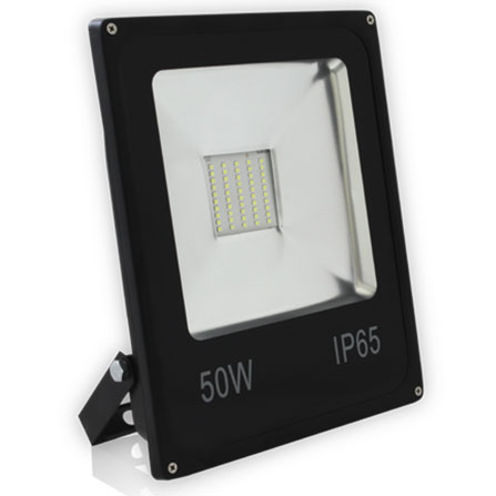 50W Refletor Slim (Refletores LED Slim) - Iluctron LED Technology
