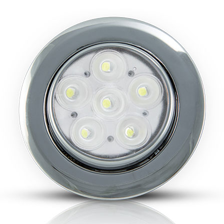Spot de Embutir 6W New Riviera (Spots LED de Embutir) - Iluctron LED Technology